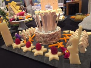 A cheese tribute to the 4th of July © Kaori Mahajan or WhereNYC