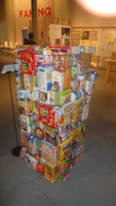 Towering snacks. Unhealthy, perhaps, but many of them have natural flavoring. ©WhereNYC
