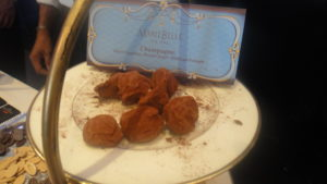 Don't miss Marie Belle truffes au champagne. Beautiful crunchy outer layer. © WhereNYC