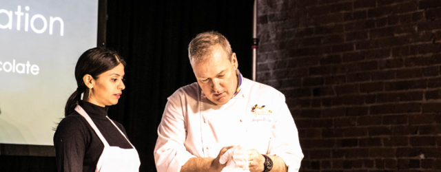 Chocolatier Jacques Torres © Vicha Saravay for The Big Chocolate Show 2016