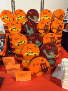 Jacques Torres amazing New York-inspired designs © Kaori Mahajan for WhereNYC Chocolate Show