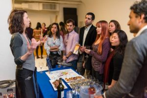 One of several mini wine pairing classes © DanielDaPhotog